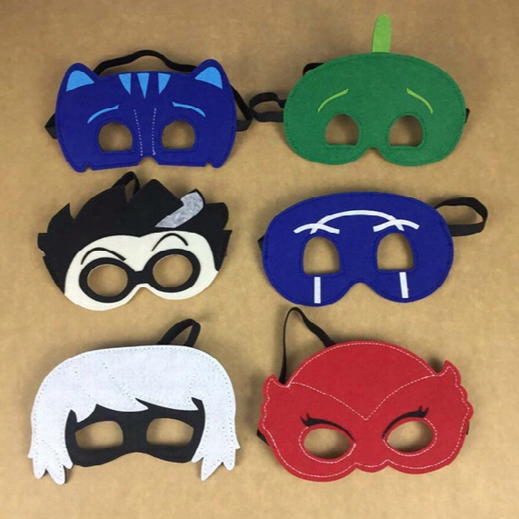 New Superhero Masks Cartoon Party Favor Masks Pretend Display Dress Up Festive And Party Supplies Drop Shipping