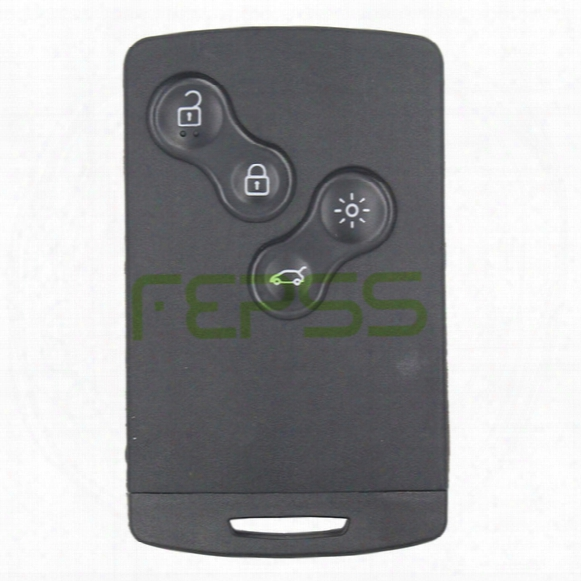 Remote Key Fob 4 Button 433mhz Pcf7952 For Renault Megane 2009-2014 Uncut
