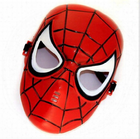 Spiderman Spiderman Mask Halloween Children's Day Masquerade Party Mask Cartoon Mask Hjia344