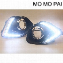 Car styling 2pcs LED Daytime Day Fog Lights DRL Run lamp Fit for Mitsubishi ASX Outlander 2013+