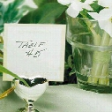 wedding favor-Heart Silver Place Card Holder