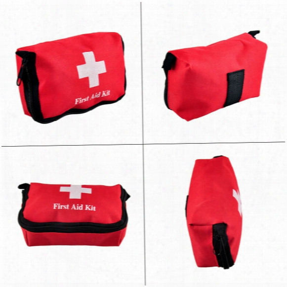 Travel Sports Home Medical Bag Outdooor Car Emergency Survival Mini First Aid Kit Bag (empty) Wholesale 2503022