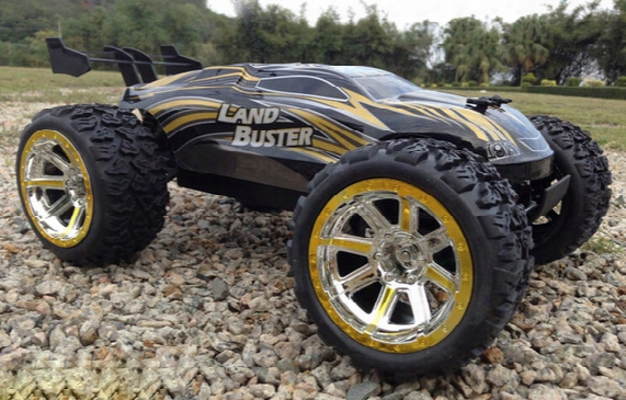 Wholesale- 4wd 50km/h Rc Car High Speed Remote Control Off Road Dirt Bike Classic Toys Truck Big Wheel Boy Gift