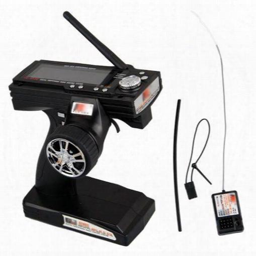 Wholesale- Edt-flysky Gt3b Fs-3 2.4ghz Radio Sender Auto Boat Remote Control