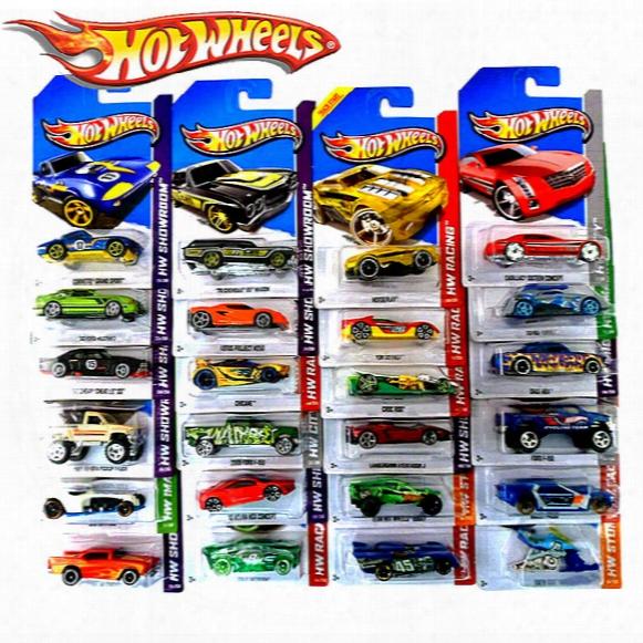 10pcs/lot Hot Wheels Classic Cars Toys Original Boy Girl Children Toys Sport Car Hot Wheels Race Car Metal Models Toys