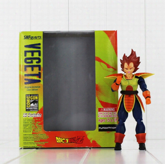 15cm Shfiguarts Dragon Ball Z Vegeta Battle Status Pvc Action Figure Collectible Model Toy For Kids Gift