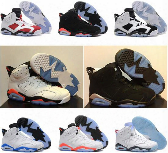 Air Retro 6 Alternate Hare Carmine White Infrared Sports Blue Maroon Oreo Angry Bull Chrome Womens Girs Basketball Shoes Sneakers For Sale