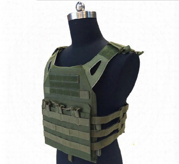 Armor Tactical Jpc Plate Carrier Vest Ammo Magazine Chest Rig For Wargame Cs Outdoor Airsoft Paintball Gear Loading Bear Equipment Hunting