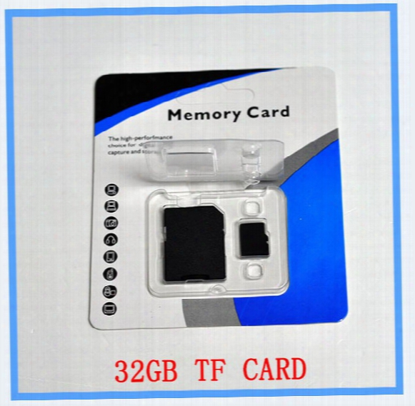 Dhl Ems New 32gb Sd Card Tf Memory Card Class 10 Flash Sdhc Cards Adspter Free Retail Package Xperia Sl,xperia Tipo Dual, Xperia Tipo, Xpe