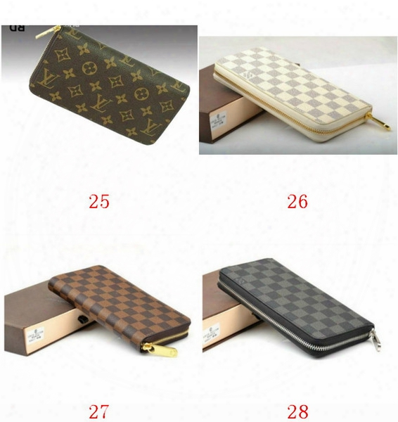 Free Shipping !!! 2018 New Pu Leather Mens And Womens Wallets Purse Card Holders ( 4 Color For Pick)