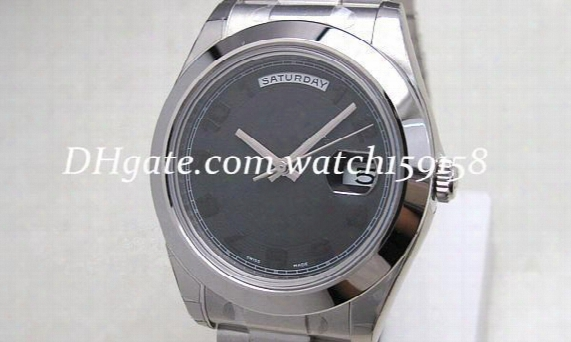 Free Shipping Luxury Watch Classic Men's Mechanical Automatic Wristwatch Stainless Watches 022
