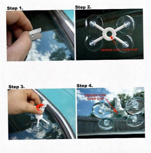 High Quality Newest Professional Diy Car Windshield Chip Repair Kit Tools Auto Glass Windscreen Repair Set Car Styling