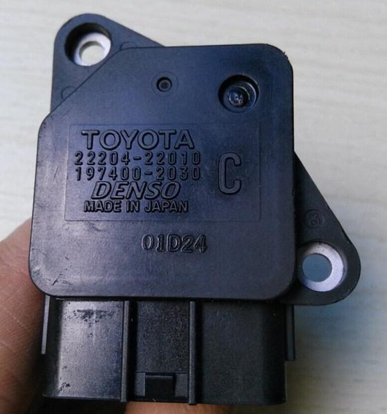 Japan Original Air Flow Meters Toyota Denso Air Flow Sensors 22204-22010,197400-2030