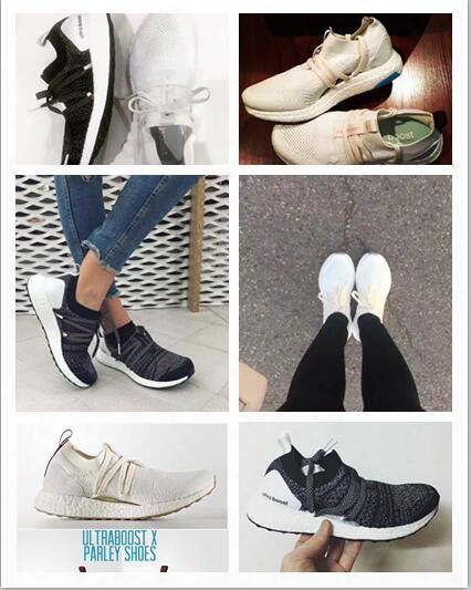 New Arrival High Quality Stella Mccartney Running Shoes Women Sports Shoes Stella Ultra Boost Sneakers Runner Athletic Shoes Oreo