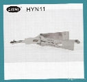 LISHI HYN11 2-in-1 Auto Pick and Decoder For Hyundai With Free Shipping