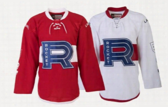 2017-18 Laval Rocket Jersey Hockey Jersey Sewn Any Player Or Number 100% Stitched Fast Shipping