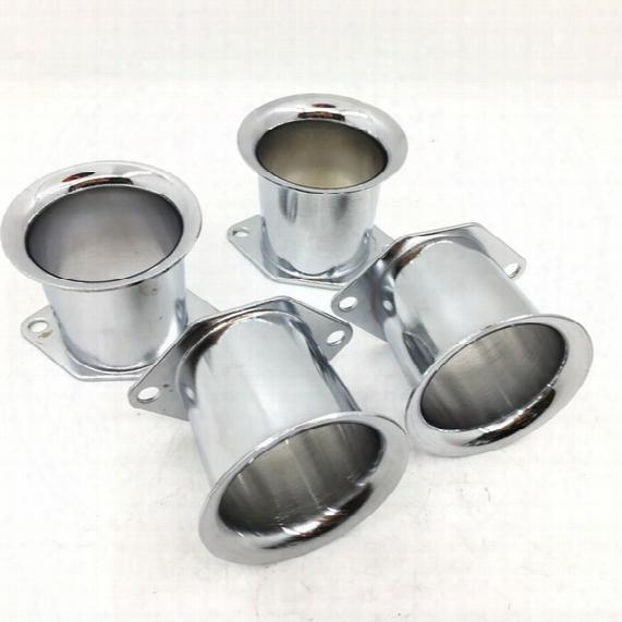 4pcs/lot Velocity Stacks Air Horns For Weber 40/44/48idf 40dcoe Carburetor Pipe Trumpet