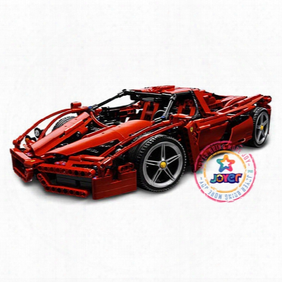 Bela 9186 Enzo Super Car 1:10 Building Toys For Children Toy Set Boy Car Racers Car Gift Compatible With Lepin 8653