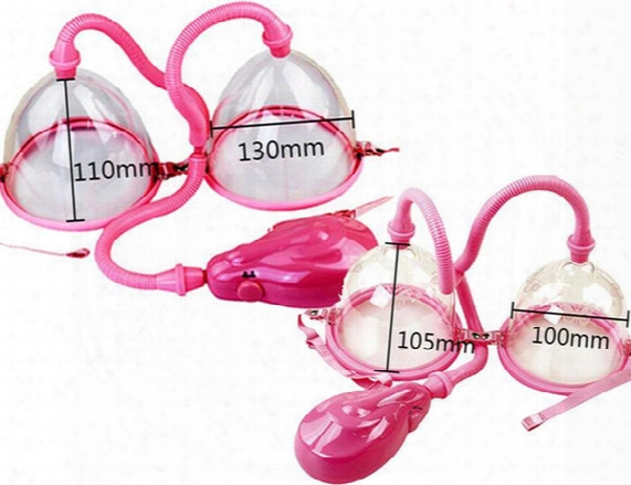 Electric Breast Enlarger Breast Enhancer Suction Pump Dual Cup Machine Enlargement Bust Massager Breast Care Equipment
