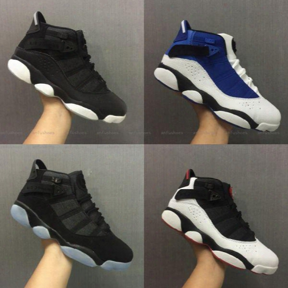 Free Shipping Wholesale Cheap Online Hot Sale New Best Basketball Shoes Air Retro 6 Vi Rings Carmine Sneaker Sport Shoe Vi Us 7-11