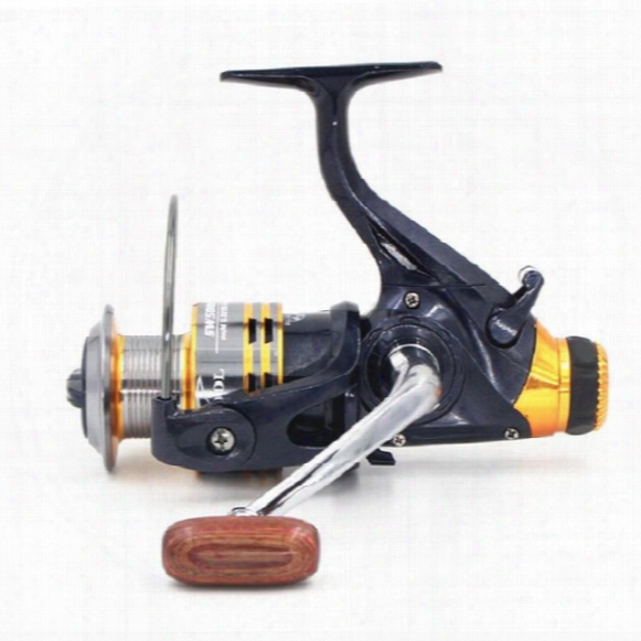 Hlq Double Brake System(front And Back) 11bb Bass Carp Spinning Fishing Reel Metal Spinning Free Shipping