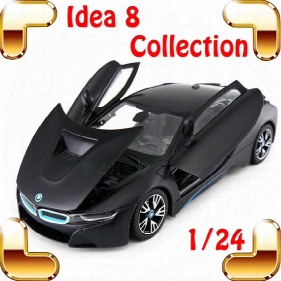 New Arrival Gift Idea 8 1/24 Model Metal Car Sports Design Diecast Alloy Openable Doors House Decoration Toys Car Collection
