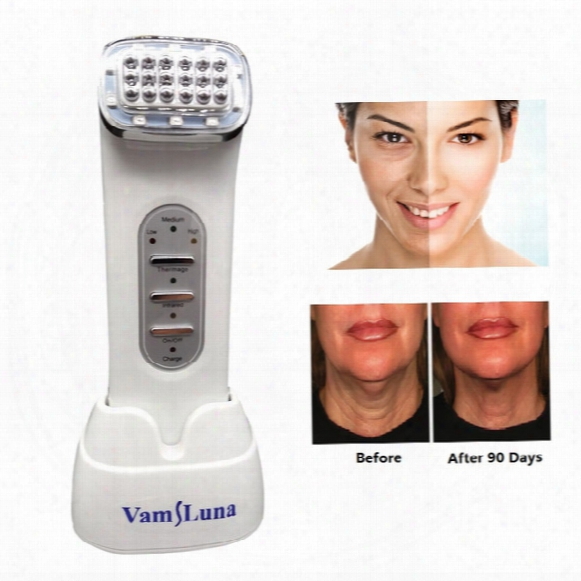 Rf Radio Frequency Thermage Facial Machine Portable For Lifting Face, Lift Body Skin, Wrinkle Removal, Skin Tightening Beauty Care Cordless