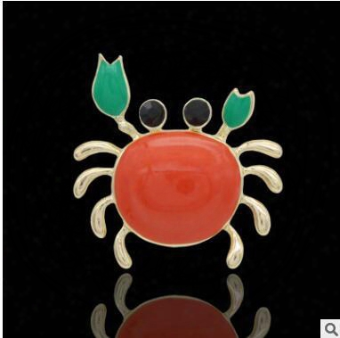 Super Strength Pin Drip Multicolor High-grad Ecrabs Brooch Brooch Button Scarves Shawls Double With Animals Shipping Free