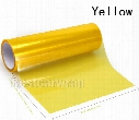 4 rolls Yellow Headlights Tinting film Headlamp Tint tail lamp Vinyl lamp covering foil size 0.3x10m/Roll