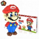 Big size Super Mario Micro Blocks Stitch Micro blocks DIY Building Toys Cute Cartoon Juguetes Auction Figures Kids Gifts
