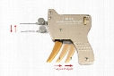 H&H Semi-Automatic Lock Pick Gun Premium Quality Locksmith Pick Gun by H&H