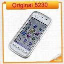 Original Nokia 5230 Unlocked 3G 1 Year Warranty single sim card single core Refurbished Mobile phone