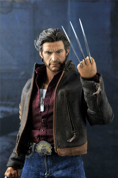 "1/6 Scale Figure Doll X-man Wolverine Hugh Jackman 12"" Action Figure Doll Collectible Figure Plastic Model Toys .no Box"