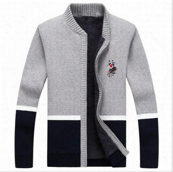 2017 Fashion New Arrival Cardigan Masculino High Quality Autumn&winter Casual Warm College Style Mens Knitted Sweaters Men/women Coats