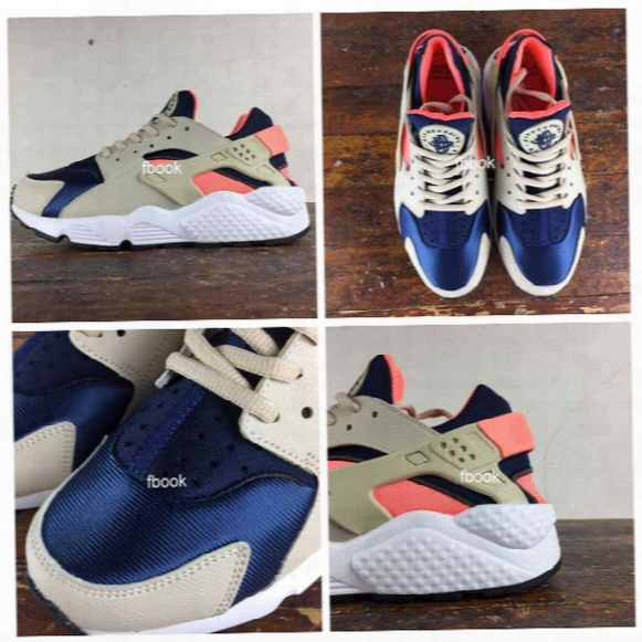 2017 New Air Huaraches Oatmeal Running Shoes For Men & Women, High Quality Huarache Breathable Cushion Huraches Sport Sneakers Size 36-46