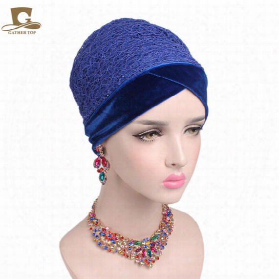 2017 New Women Soft Mesh Net Velvet Nigerian Turban Extra Long Head Wraps Women Luxury Hijab Headscarf Head Scarf Turbante