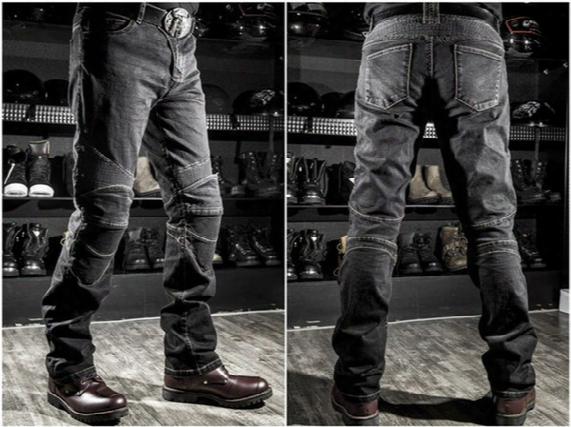 2017 Wholesale Price Komine Jeans Motorcycle Jeans Drop Resistance Slim Denim Jeans Automobile Komine Race Pants Motorcycle Pants Plus Size