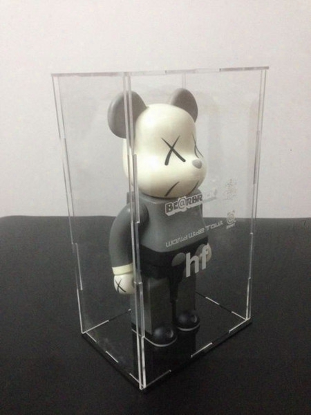 Bearbrick Display Box, Be@rbrick Transparent Box, Suitable For 400% Dust Cover Kaws