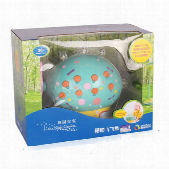 In The Night Garden Baby Toys Musical Flashing Flying Fish Pinky Ponk Battery Operated Car Toy