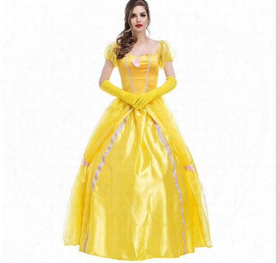 New Anime Movie Princess Dress Women Carnival Christmas Day Costume Game Uniforms Psy2831