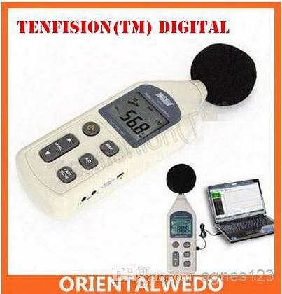 Tenfision(tm) Digital Sound Pressure Level Meter 30 ~ 130 Db Decibel Usb Noise Measurement With Sd Memory Card Top Sale Latest Free Shipping