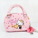 2017 NEW Brand Children baby girls cute hello kitty handbag Kids Cartoon Handbag Dsigns shoulder bags children Pink handbag
