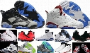 High Quality Air Retro 6 VI Basketball Shoes Men Women 6s Carmine Infrared 6s Blue Olympic Slam Dunk Oreo mans 6s Athletics Sneakers 6-11-12