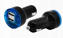New Style Dual 2 Port USB Car Charger for iPad iPhone 4G iPad 2A