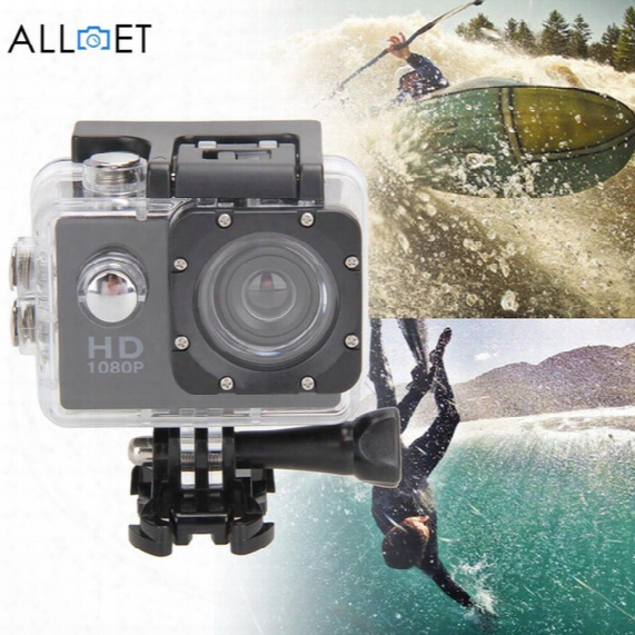 Wholesale- Good Quality 12mp Ultra Hd 1080p Waterproof Action Camcorder Sports Dv Camera Car Cam