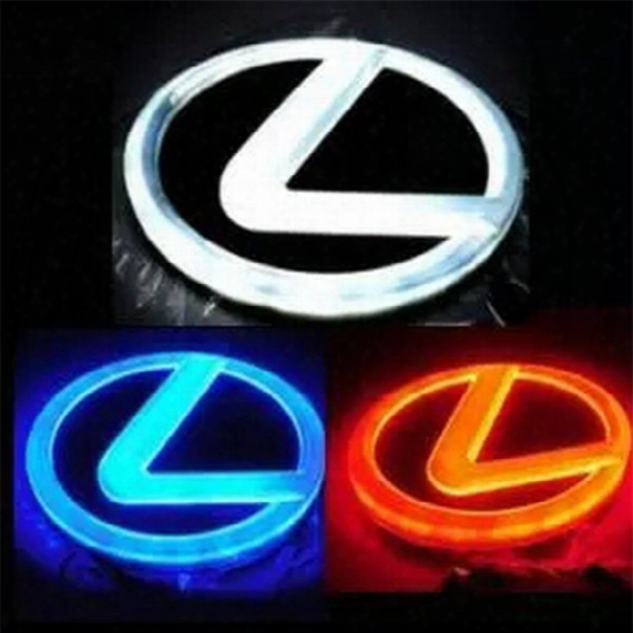 4d Led Car Logo Light Rear/back Car Badge Light Auto Led Emblem For Lexus