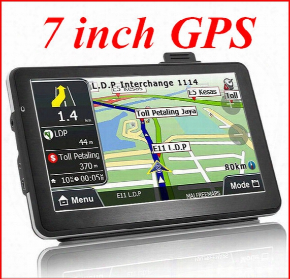 7 Inch Portable Gps Navigation Vehicle Navigator Car Navigator Exports The European And American Trade Global L Atp203