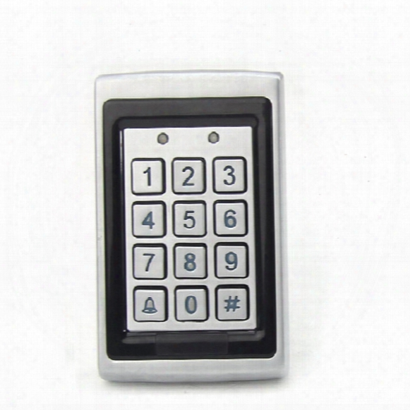 Anti Smashing Water Proof 125khz Em Rfid Access Control Keypad Card Access Control Door Opener