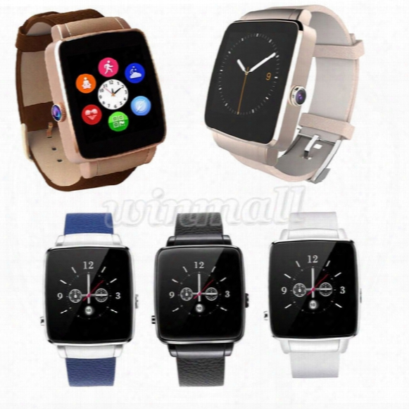 Bluetooth Smart Watch X6 1.54inch Ips Screen Smartwatch Sport Watch With Sim Card Slot For Ios Android Smartphone