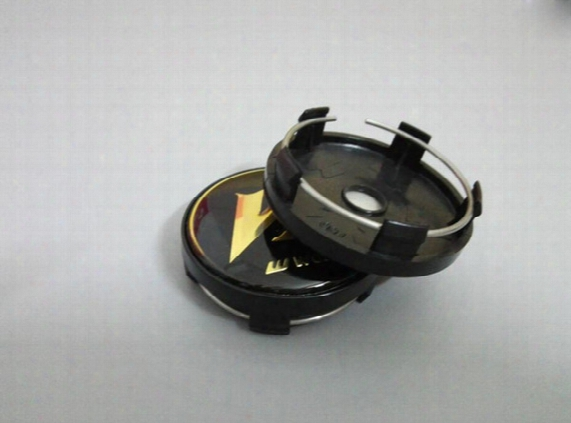"Car Styling High Quality 4pcs/lot Work Wheels Vs Center Caps Black Gold 17"" 18"" 19"" Vs-xx 18"" 19"" Vs-kf Rezax"